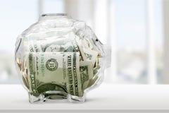 存钱罐 库存图片