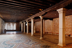 存贮商人房子加州d'Oro,威尼斯,意大利 免版税库存图片