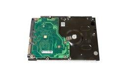 存贮设备硬盘驱动器特写镜头 库存照片