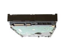 存贮设备硬盘驱动器特写镜头 免版税库存图片
