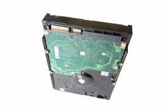 存贮设备硬盘驱动器特写镜头 免版税库存照片