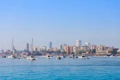 孟买地平线 免版税库存照片