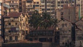 孟买市家 库存照片