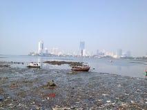 孟买市视图,印度 库存图片