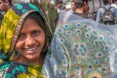 从孟买的妇女 免版税库存照片