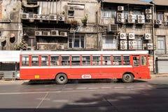 孟买,公路交通街道  库存照片