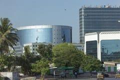 孟买Bandra Kurla复杂地区射击了2012年5月14日 库存照片