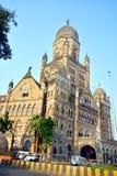 孟买Municipal Corporation大厦 库存照片
