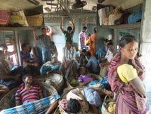 孟加拉人群 免版税图库摄影