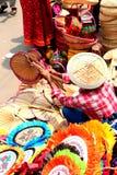 孟加拉国新年1422庆祝的卖主 免版税库存照片