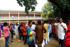 孟加拉国新年1422庆祝 免版税库存图片
