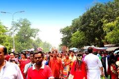 孟加拉国新年1422庆祝 免版税图库摄影