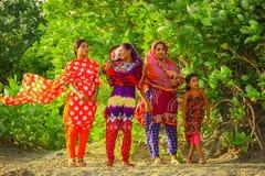 孟加拉国的人们 库存图片