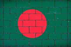 孟加拉国的国旗 免版税库存图片