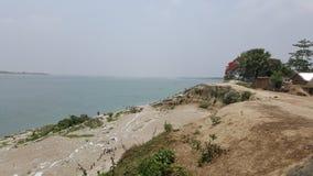 孟加拉国的帕德马河 库存照片