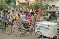 孟加拉国,达卡 免版税库存照片