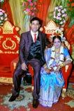 孟加拉夫妇 库存图片