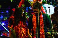孟加拉庆祝新年度 免版税库存照片