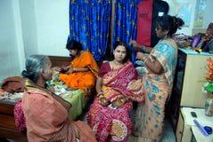 孟加拉新娘 库存照片