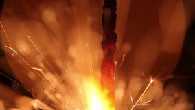 孟加拉新年的光 烟花 股票视频