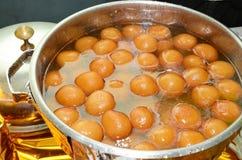 孟加拉甜点 免版税库存图片