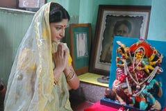 孟加拉社区kolkata 免版税库存照片