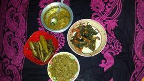 孟加拉食物 免版税库存照片