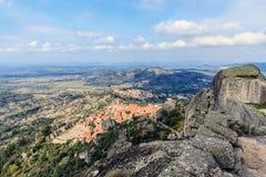 孟山都,多数葡萄牙村庄 免版税库存照片