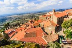 孟山都,多数葡萄牙村庄 库存图片