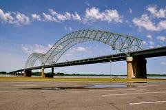 孟菲斯桥梁 库存照片
