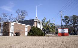孟菲斯词根学院,孟菲斯,田纳西 免版税库存图片