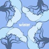 季节和树 免版税图库摄影