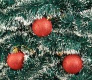 季节性圣诞节装饰背景 免版税库存图片