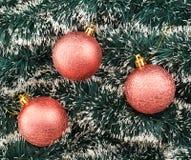 季节性圣诞节装饰背景 库存图片