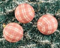 季节性圣诞节装饰背景 免版税图库摄影