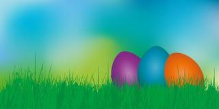 季节性复活节背景 向量例证