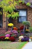 季节性房子室外装饰 免版税库存照片