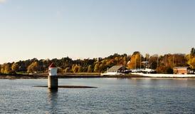 季节性挪威议院 库存图片