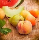季节性新鲜的有机果子 库存照片