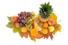 季节性的新鲜水果 免版税图库摄影