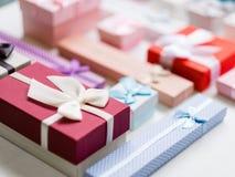 季节性礼物销售假日购物折扣 库存照片
