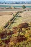季节性自然户外场面,减速火箭的照片过滤器 库存图片