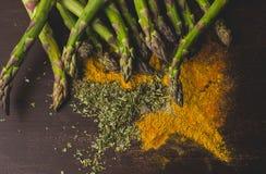 季节性菜,饭食成份 免版税库存照片