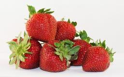 季节草莓 库存照片