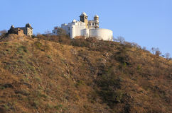 季风宫殿,乌代浦,印度 库存照片
