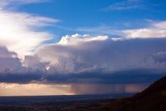 季风风暴7 免版税图库摄影