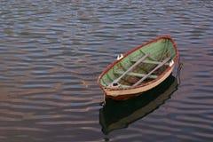 孤独在海运 免版税库存图片