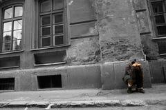 孤独的人 库存照片