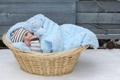 孤独的婴孩 免版税库存照片