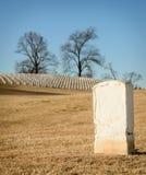孤立墓碑 免版税库存图片